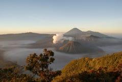 Вулкан Bromo, Индонесия Стоковое Изображение RF