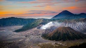 Вулкан Bromo Стоковое Изображение RF