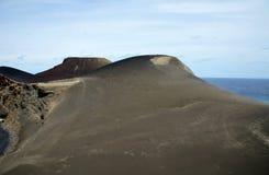 Вулкан Capelinhos стоковые изображения rf