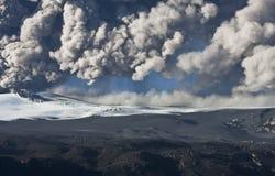 вулкан eyjafjallajokull Стоковое Фото