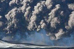 вулкан eyjafjallajokull Стоковые Фото