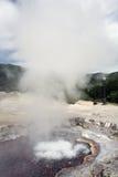вулкан furnas Азорских островов Стоковое фото RF