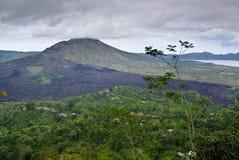 Вулкан Gunung Batur Стоковые Изображения