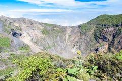 Вулкан Irazu - озеро кратера - Коста-Рика Стоковая Фотография RF