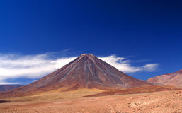 вулкан licancabur Стоковое Изображение