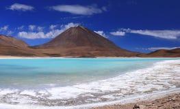 вулкан licancubur Боливии Стоковые Фотографии RF