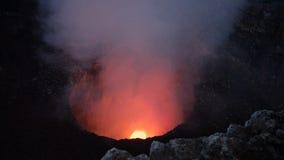 Вулкан Masaya, Никарагуа Стоковое Изображение