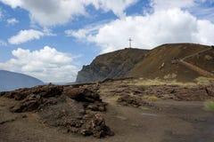 вулкан masaya Стоковые Фотографии RF
