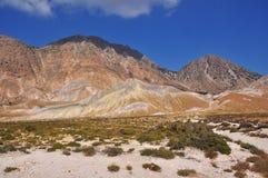 Вулкан Nisyros Стоковая Фотография