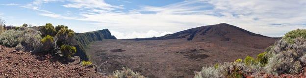 вулкан piton la de fournaise Стоковое Изображение
