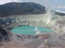 вулкан poas Стоковая Фотография RF
