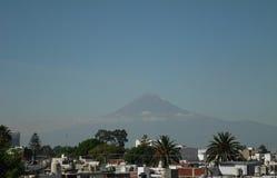 Вулкан Popocatepetl стоковые изображения