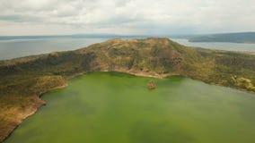 Вулкан Taal, Tagaytay, Филиппины видеоматериал