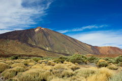 вулкан teide Испании Стоковое фото RF