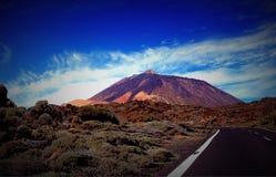 Вулкан teido El Стоковое Фото