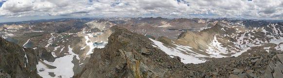вулкан tenerife teide Испании пика панорамы горы Канарских островов верхний Стоковые Изображения