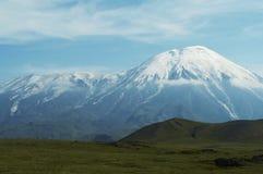 вулкан tolbachik kamchatka Стоковое фото RF