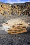 вулкан ubehebe Стоковая Фотография