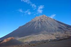 вулкан verde острова fogo плащи-накидк Африки Стоковые Фотографии RF