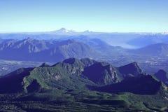 вулкан villarrica Стоковое фото RF