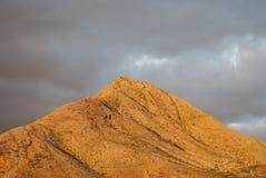 Вулканический ландшафт в Канарских островах Стоковое Изображение