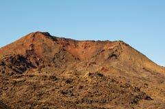 Вулканический ландшафт в Лансароте Стоковое Фото