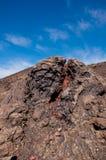 Вулканический ландшафт в Лансароте Стоковое Изображение RF