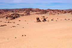 Вулканический ландшафт Teide Стоковые Изображения RF