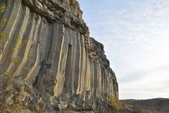 Вулканический камень базальта стоковое фото