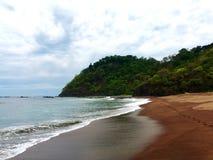 Вулканический пляж Jaco Стоковые Изображения RF