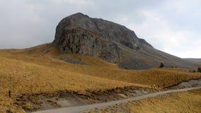 Вулканический утес ландшафта Стоковое Изображение RF