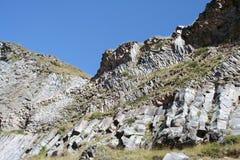 Вулканическое образование - утесы Стоковые Фотографии RF