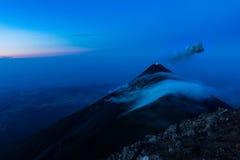 Вулканы Гватемалы Стоковое Изображение