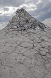 Вулканы Berca, Buzau грязи, Румыния Стоковое Изображение RF