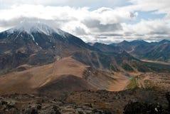 Вулкан в Камчатке Стоковая Фотография