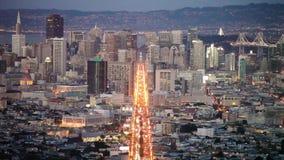 Вулкан городской Сан-Франциско Arenal видеоматериал