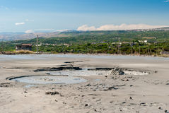 Вулкан грязи около ² Paternà (Сицилия) Стоковая Фотография