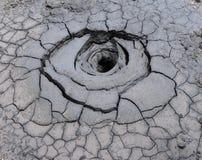Вулкан грязи Стоковые Фотографии RF