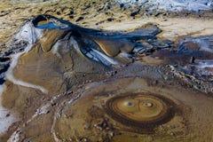 Вулкан грязи Стоковое Изображение RF