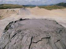 Вулкан грязи Berca в Buzau, Румынии Стоковые Изображения