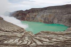 Вулкан Индонезия Стоковое Изображение RF
