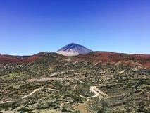 Вулкан Испания Teide Стоковое Изображение RF