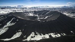 Вулкан Исландия Стоковая Фотография RF