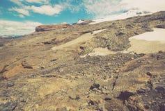 Вулкан и ледники Tronador Стоковая Фотография RF