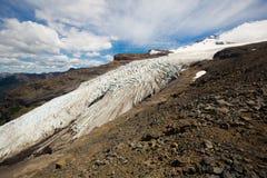 Вулкан и ледники Tronador Стоковые Фотографии RF
