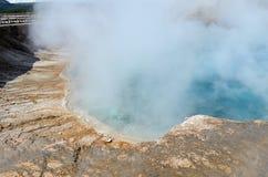 Вулкан Йеллоустона Стоковые Изображения