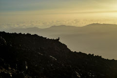 вулкан долины tenerife teide Испании las canadas канерейки del острова Стоковые Фото