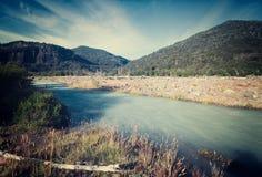 Вулкан реки Cauquenes и Tronador Стоковые Фотографии RF