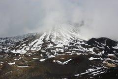 Вулкан Сицилия Этна Стоковые Изображения RF