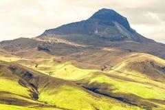 Вулкан эквадор Corazon Стоковые Изображения